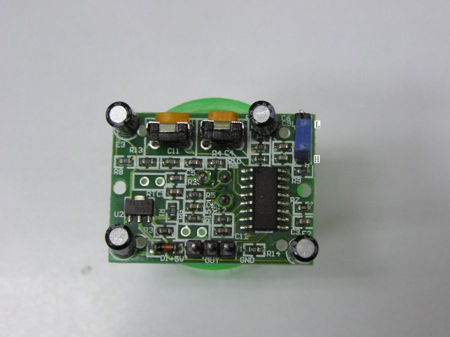 hc-sr501 人体红外感应模块 热释电红外传感器 j-20