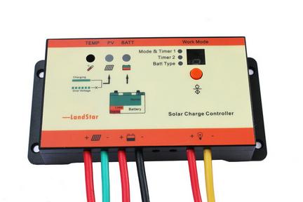 防水型太阳能充放电控制器12v-24v 10af-21